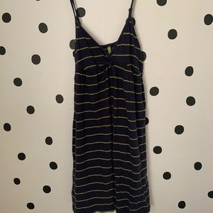 🔥30%OFF🔥Aerie navy blue/green dress size S